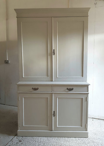 antique housekeepers cupboard