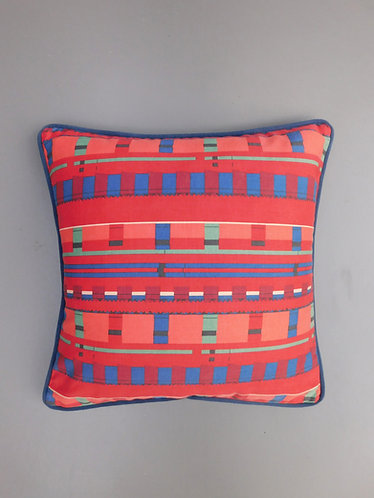 Vintage Conran Zinder fabric 1987 cushion cover
