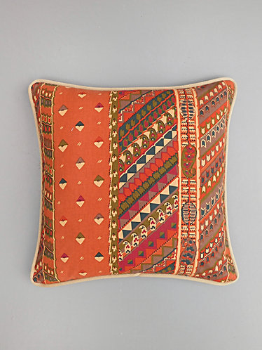 Vintage Collier Campbell Rosscabery Stripe fabric cushion cover