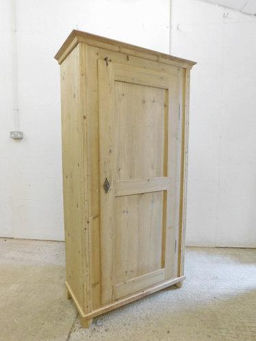 Tall old pine storage housekeeper cupboard