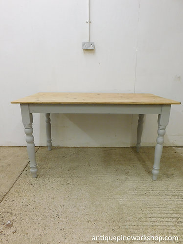 Small antique pine table