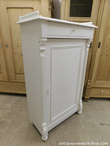 antique french pine cupboard