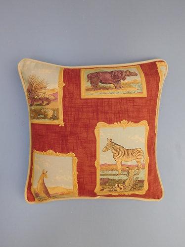 Vintage Beaumont & Fletcher Orpheus fabric cushion cover