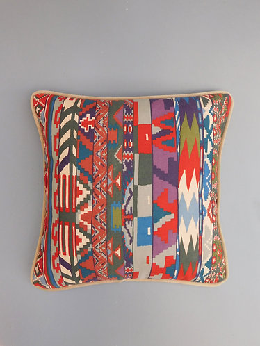 Vintage cushion cover Liberty Zebak Collier Campbell fabric