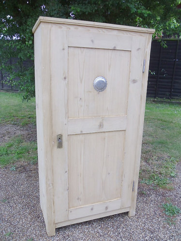 1894  Small antique pine cupboard