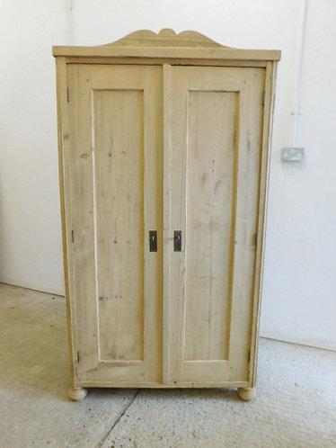 antique pine storage cupboard