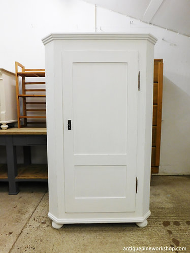 French antique pine armoire/cupboard