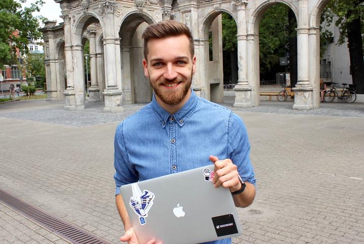 Mit Bart und Mac - PR-Blog für Newcomer