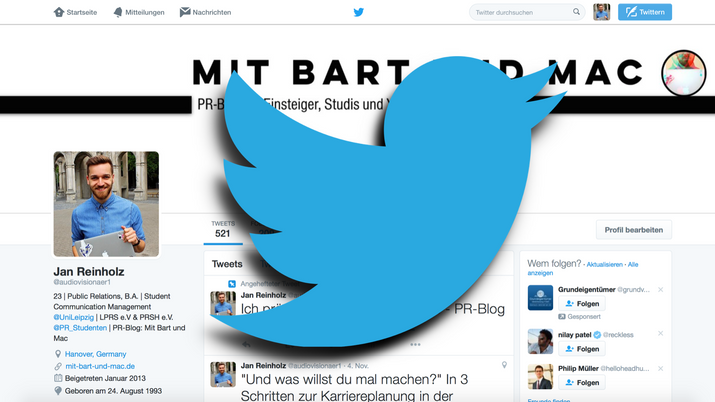 Warum du auf Twitter aktiv sein solltest