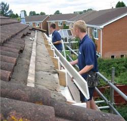 roofline install