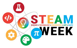 STEAM Week Logo Design white.jpg