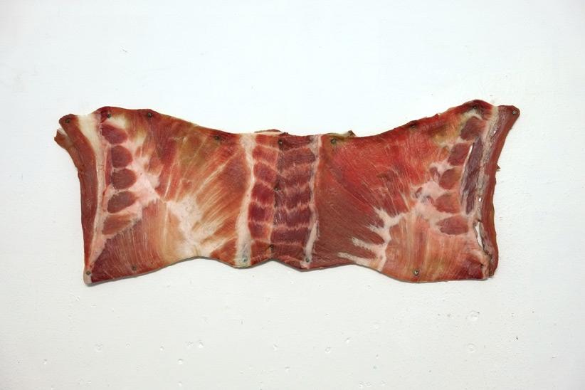 打开一块肉