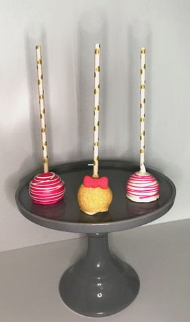 MINNIE PINK CAKE POPS