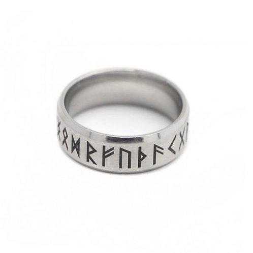 Men's Stainless Steel Nordic Rune Mythology Ring