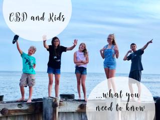 CBD & Kiddos: When is it OK?