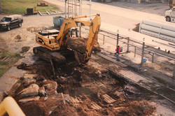 Johnson Controls Silo Foundation Slab