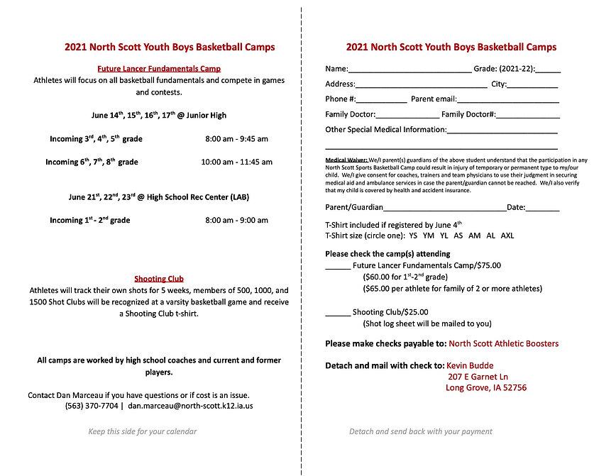 2021 North Scott Youth Boys Basketball C