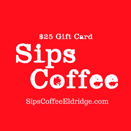 Sips Gift Card