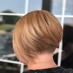 Short and sassy undercut for this busy m