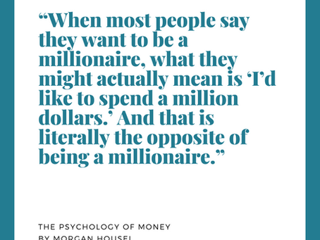 My Favorite Quotes from The Psychology of Money by Morgan Housel