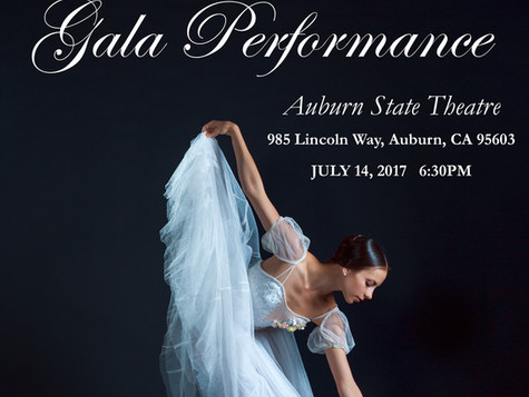 TCDA-IBF Gala Performance & Reception, July 14, 2017