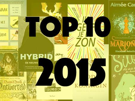 Hybrid in Top 10 beste YA-Books 2015, tussen internationale toppers!