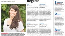 Greet Ilegems in 'De Zondag', met zondagse tips voor regio Brussel en de rand