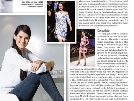 Nina (weekendbijlage Het Laatste Nieuws): Een interview met Greet Ilegems