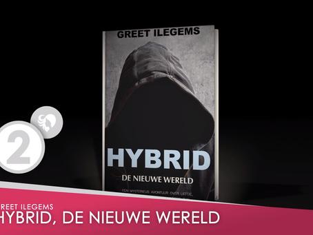 Hybrid knap tweede op de Hebban Awards in de categorie beste Young Adult Nederlandstalig jaargang 20