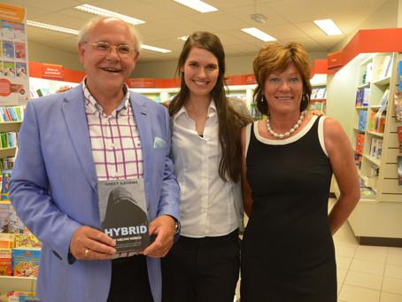 Officiële boekvoorstelling HYBRID, De nieuwe wereld: Foto's en toespraken