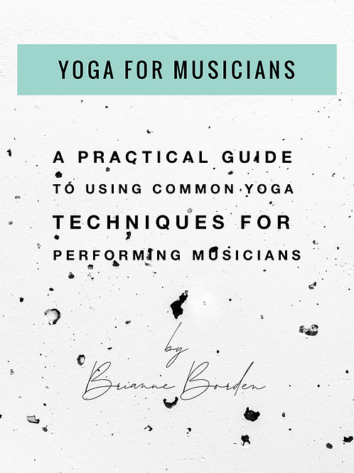 Yoga for Musicians E-Book