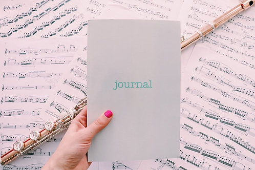 Musician's Wellness Practice Journal