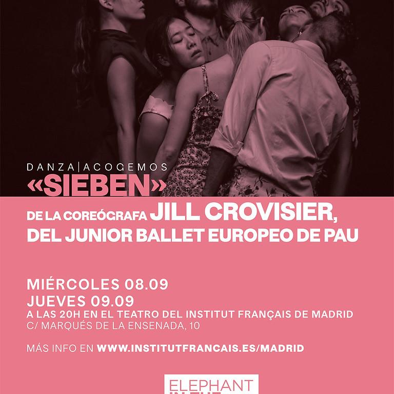 SIEBEN (JILL CROVISIER) TEATRO DEL INSTITUTO FRANÇAIS DE MADRID