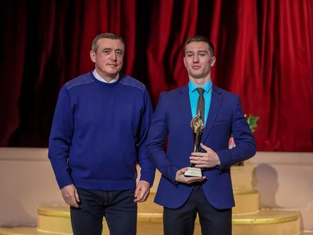 Валерий Лимаренко наградил победителей конкурса «Сахалинский маяк» из Холмского района