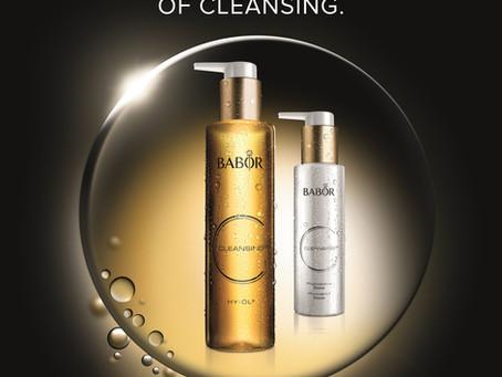 Babor Cleansing prend soin de votre peau dès la phase de nettoyage ...
