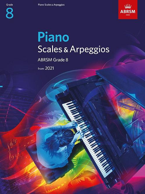 Piano Scales & Arpeggios 2021 & 2022