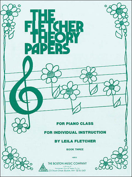 Fletcher Theory Papers - Book 3