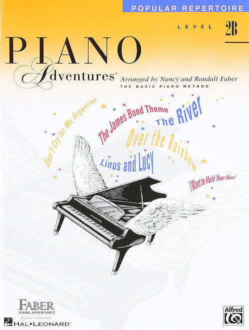 Piano Adventures Popular Repertoire - Level 2B
