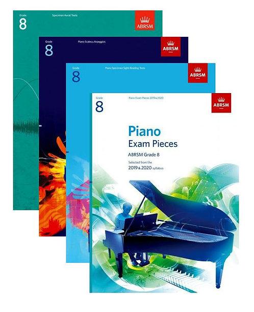 "ABRSM Piano Exam 2019-20 Grade 8 ""Student"" Pack"