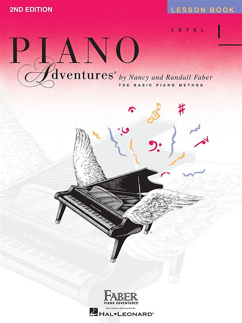 Piano Adventures Lesson Book - Level 1