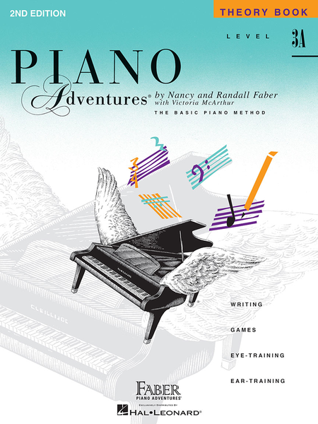 Piano Adventures Theory - Level 3A