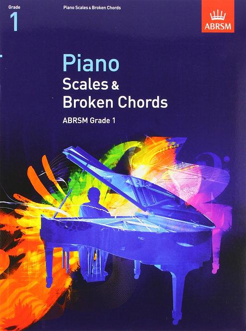 ABRSM Scales & Arpeggios Gr. 1