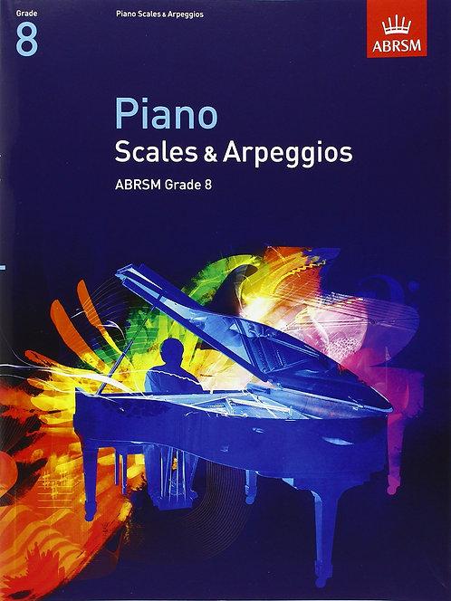 ABRSM Scales & Arpeggios Gr. 8