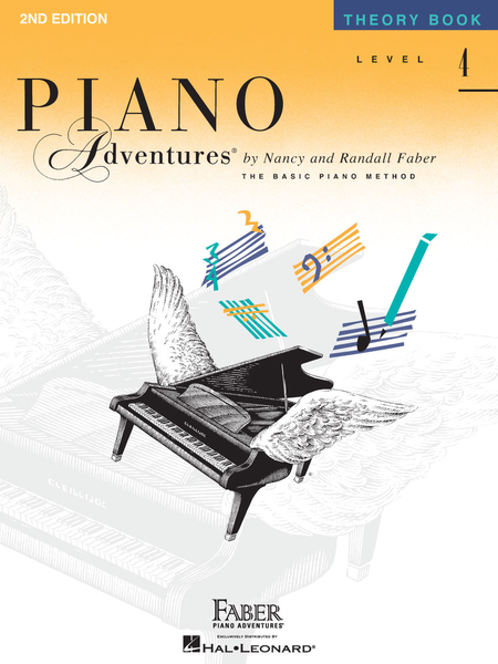 Piano Adventures Theory - Level 4