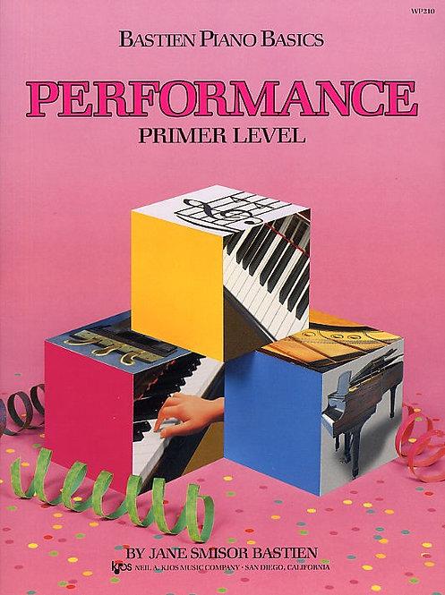 Bastien Piano Basics: Performance Primer Level