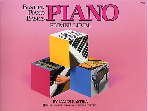 Bastien Piano Basics - Piano Primer Level