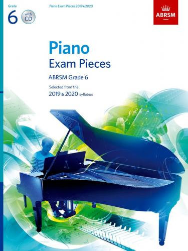 ABRSM Selected Piano Exam Pieces: 2019-2020 Gr. 6 CD
