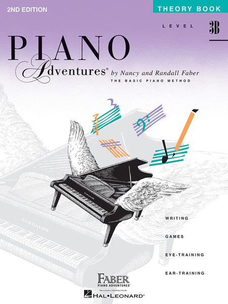 Piano Adventures Theory - Level 3B