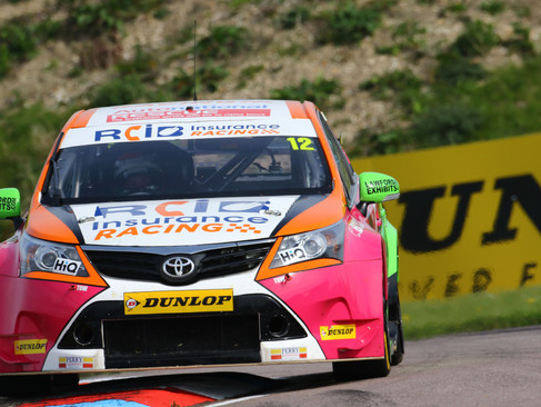 Epps Highlights His BTCC Potential With Points Treble At Thruxton
