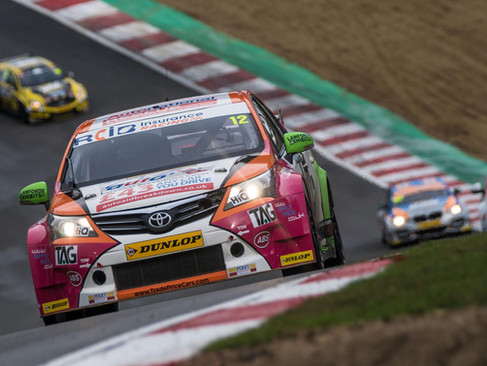 Epps Brings Maiden BTCC Campaign To A Close With Battling Brands Hatch Display